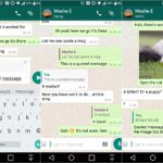 WhatsApp permite citar mensajes para responder