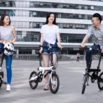 Xiaomi presentó una bicicleta eléctrica plegable