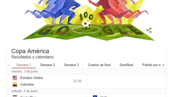 Doodle Copa América