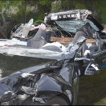 Accidente del Tesla: el auto excedía la velocidad permitida