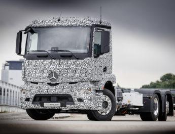 Mercedes Benz Urban eTruck