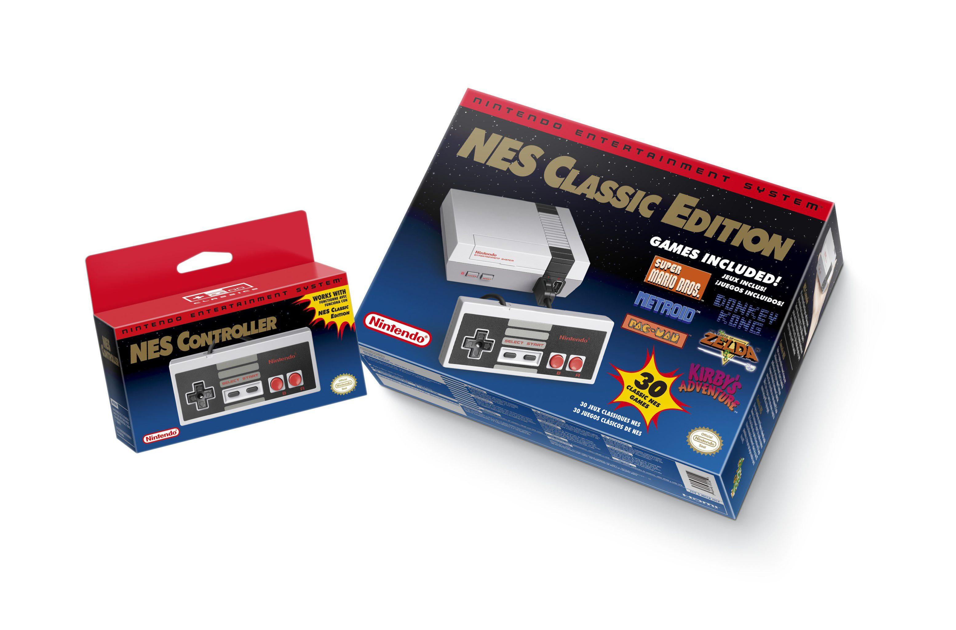 NES Classic Mini caja