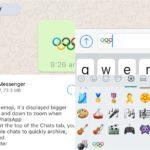 WhatsApp habilita emojis gigantes y se suma a los Juegos Olímpicos