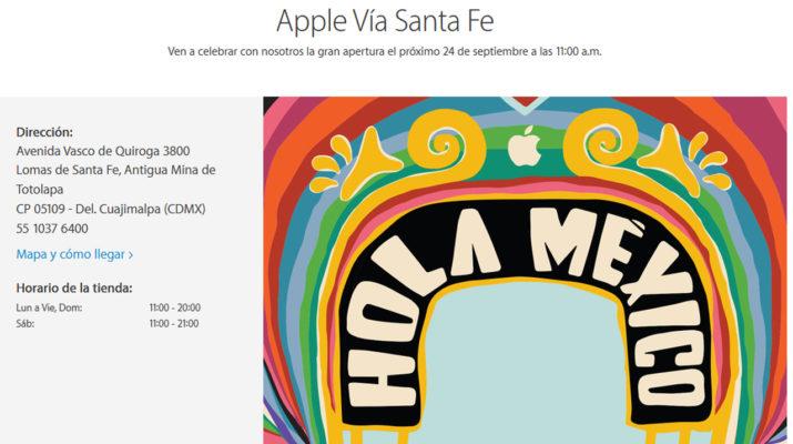 Apple Store Mexico
