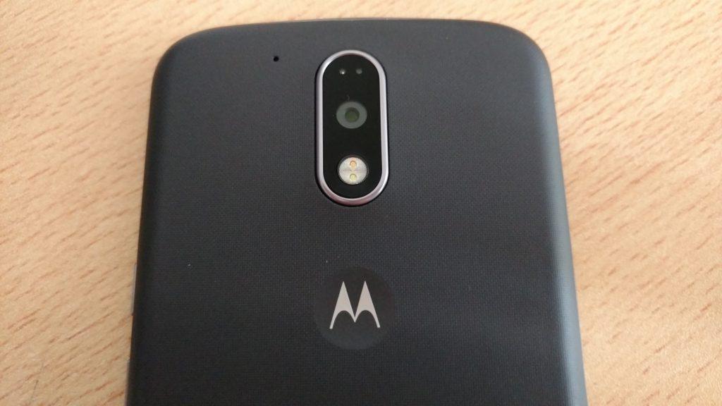Cámara Moto G4 Plus