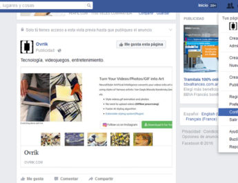 Cómo desactivar las notificaciones de video en vivo en Facebook