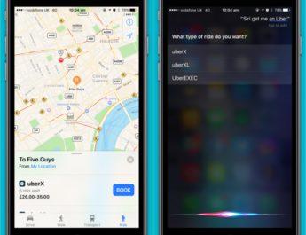 Siri Uber