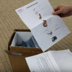 Una caja con aislante térmico, estrella del kit para devolver el Galaxy Note 7