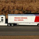 Un camión autónomo de Uber completó con éxito una entrega de cerveza