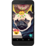 WhatsApp también sigue a Snapchat: llegaron los stickers a las fotos