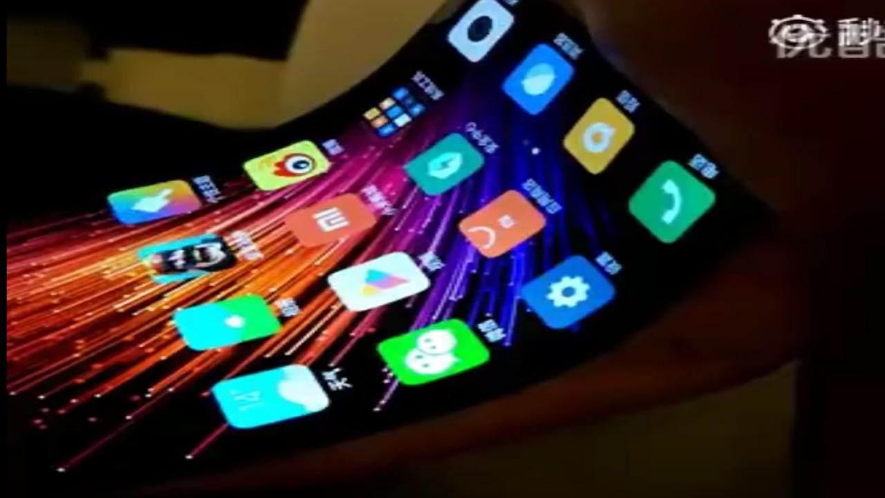 Xiaomi desvela su primer smartphone de pantalla flexible ...