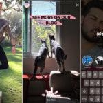 Historias de Instagram sumó links, menciones y Boomerang