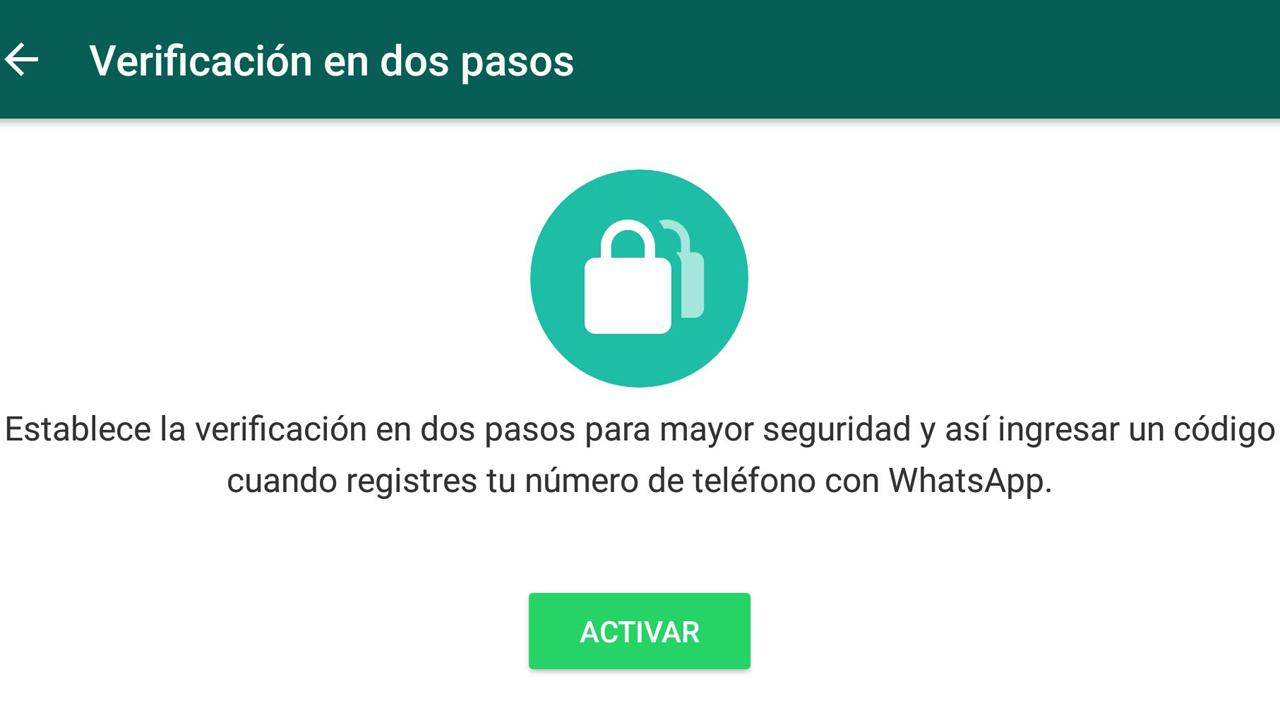 WhatsApp activó la verificación en dos pasos: qué es y cómo se usa ...