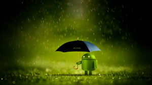 android-lluvia