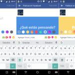 Facebook permite agregar fondos de color a los posteos