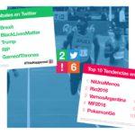 Los 10 temas más comentados en Twitter durante 2016
