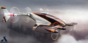 Concepto auto volador Airbus