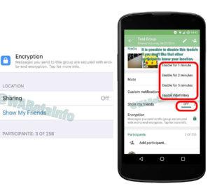 Compartir ubicacion WhatsApp
