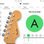 La app de Fender para afinar guitarras y bajos, ahora en Android