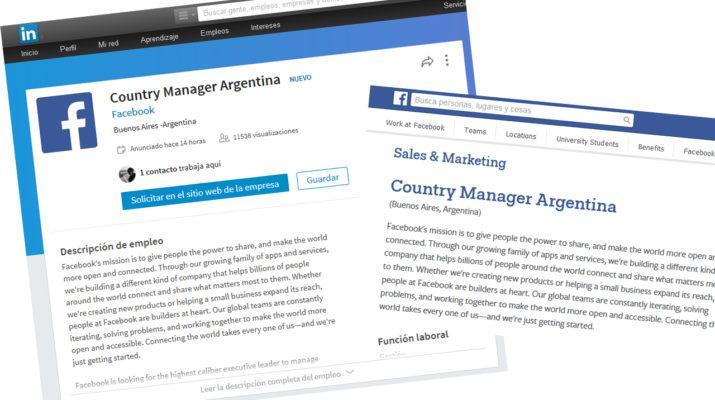 Gerente Facebook Argentina