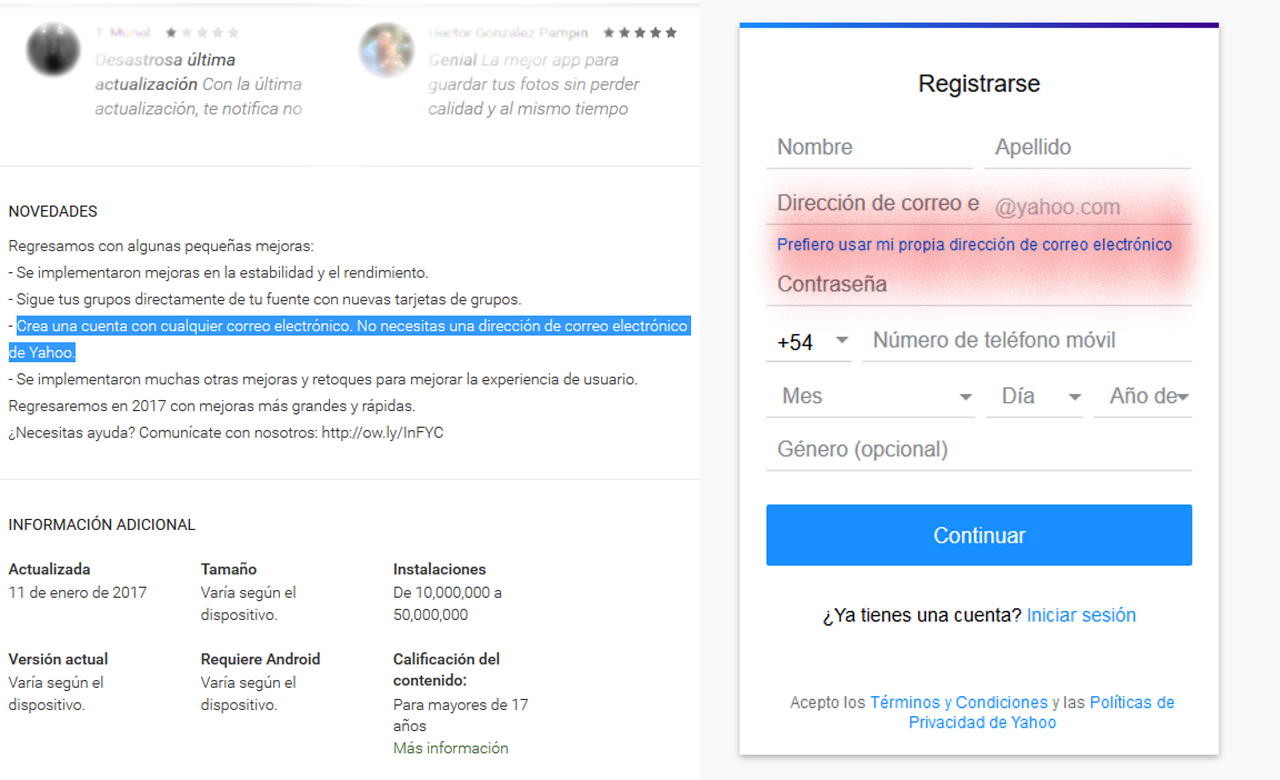 Registro Flickr