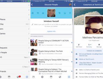Descubrir personas Facebook
