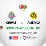 Facebook Live transmitirá el fútbol mexicano en directo