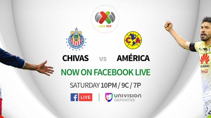 Facebook Live Liga MX