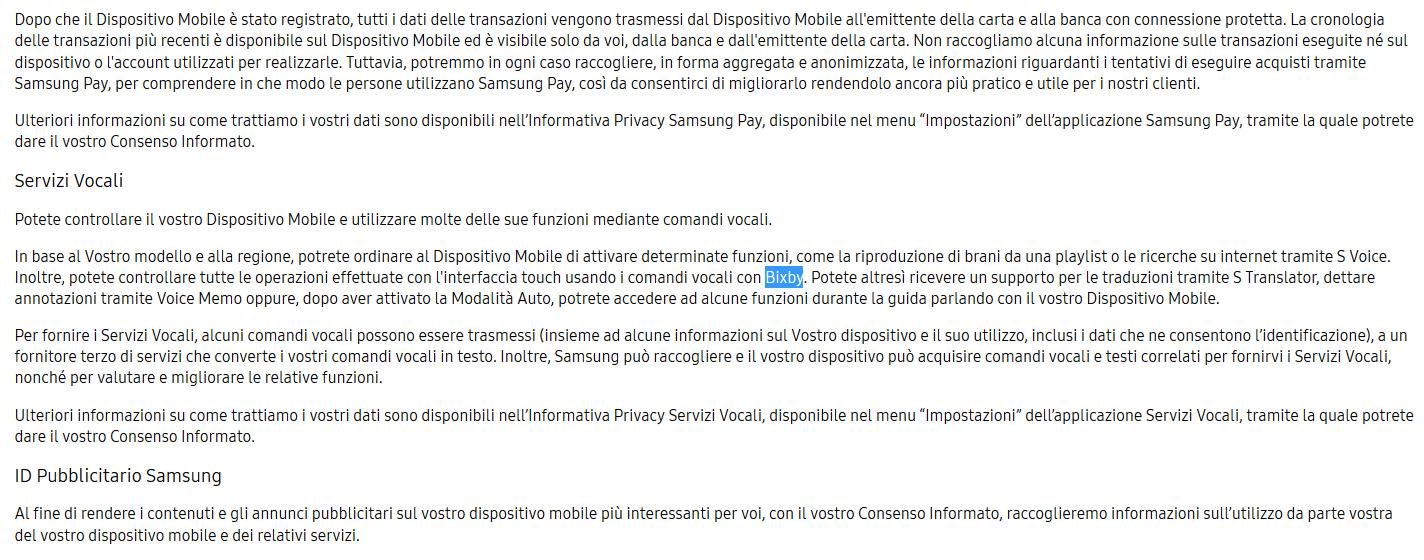 Bixby Italia
