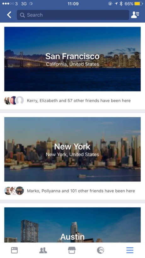 Facebook City Guides 1