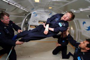 Hawking gravedad cero