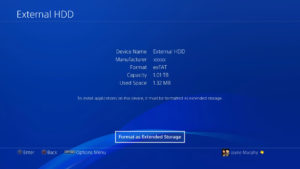 PS4 externo