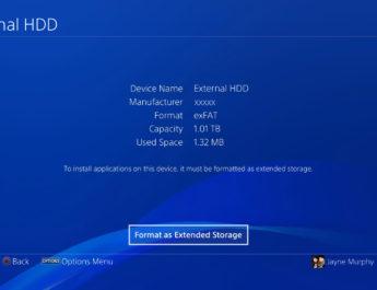 PS4: cómo descargar juegos en un disco externo