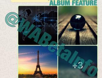 WhatsApp permitirá compartir álbumes de fotos