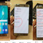 Filtran una foto de los Galaxy Note 7 reacondicionados
