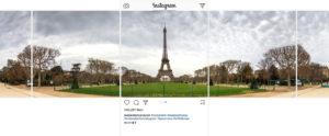 Instagram panoramica