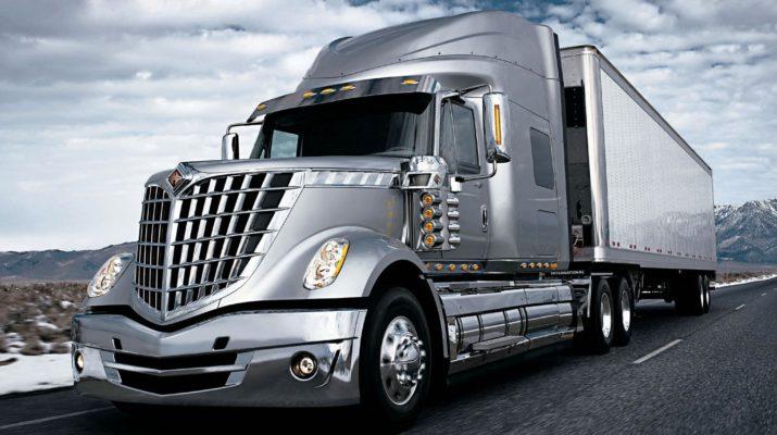 Semi truck camion
