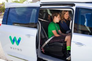 Taxi Waymo