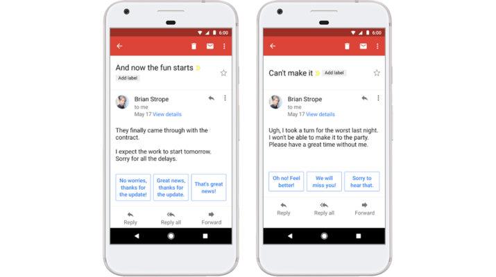 Smart Replyu Gmail