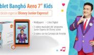 Banghó presentó una tablet edición limitada de Junior Express