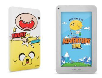 Philco presentó una tablet edición limitada de Hora de Aventura