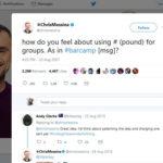 El hashtag de Twitter cumple 10 años: los más exitosos
