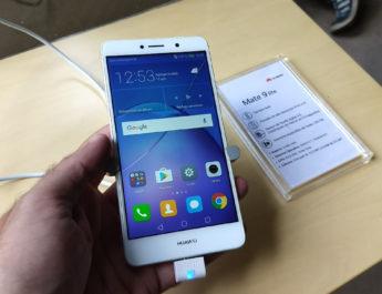 Huawei presentó el Mate 9 Lite: la doble cámara llega al segmento medio