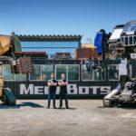 Hoy es la primera pelea entre robots gigantes
