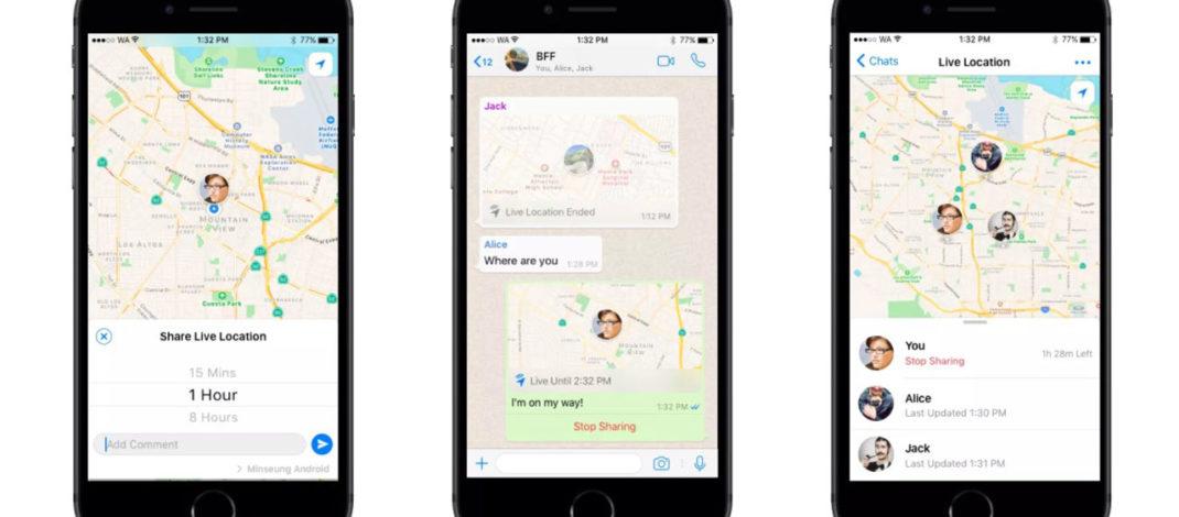 WhatsApp permite compartir la ubicación en tiempo real