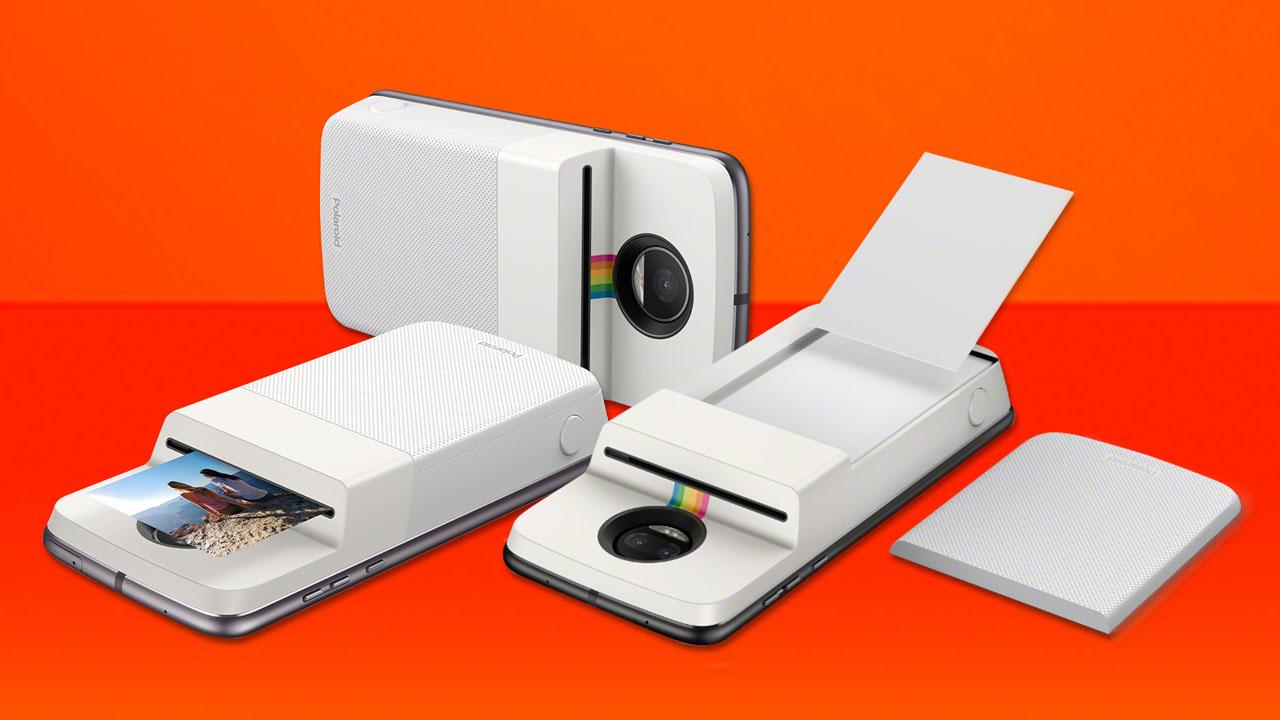Moto Mods Polaroid Sum 243 Una Impresora A Los Moto Z Ovrik