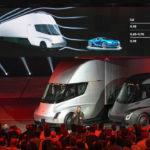 Tesla Semi, el camión eléctrico que va de 0 a 100 km/h en 5 segundos