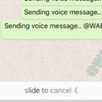 WhatsApp y un cambio radical para el envío de audios