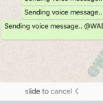 WhatsApp permite enviar audios con manos libres