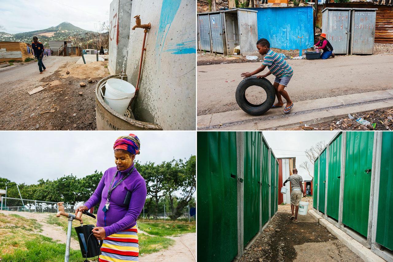 Ciudad del Cabo agua